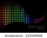 wave abstract vector backgrounds | Shutterstock .eps vector #123349828