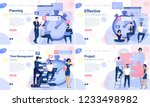 flat design web page design... | Shutterstock .eps vector #1233498982