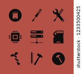 hardware icon. hardware vector... | Shutterstock .eps vector #1233500425