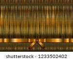 golden textured festive... | Shutterstock .eps vector #1233502402
