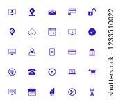 online icon. online vector... | Shutterstock .eps vector #1233510022