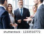 image of business partners...   Shutterstock . vector #1233510772