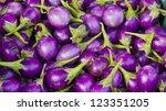 eggplant | Shutterstock . vector #123351205