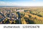 windsor castle from the sky. ... | Shutterstock . vector #1233526678