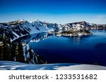 Crater Lake And Wizzard Island...