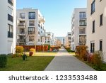 cityscape with residential... | Shutterstock . vector #1233533488
