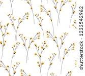 blossom floral seamless pattern....   Shutterstock .eps vector #1233542962