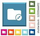 compress directory white icons...   Shutterstock .eps vector #1233566692