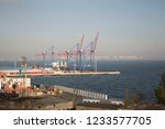 odessa   11.7.2018  view of the ...   Shutterstock . vector #1233577705