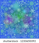 abstract christmas background... | Shutterstock .eps vector #1233650392