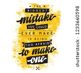 inspirational quote  motivation.... | Shutterstock .eps vector #1233660598