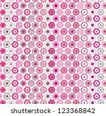 floral seamless pattern... | Shutterstock .eps vector #123368842