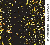 confetti of two colored rhombs... | Shutterstock .eps vector #1233689305