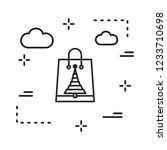 vector icon in creative design...   Shutterstock .eps vector #1233710698