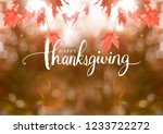Happy Thanksgiving Greeting On...