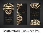 invitation templates. cover...   Shutterstock .eps vector #1233724498