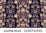 seamless  ornament with... | Shutterstock . vector #1233731932