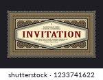 vector template flyer ...   Shutterstock .eps vector #1233741622