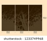 organic and abstract vectorized ...   Shutterstock .eps vector #1233749968