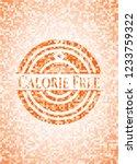 calorie free abstract emblem ... | Shutterstock .eps vector #1233759322