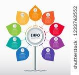 business presentation concept... | Shutterstock .eps vector #1233763552