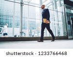 full length view of handsome... | Shutterstock . vector #1233766468