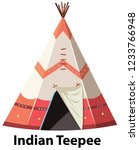Traditional Indian Teepee On...