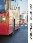public transportation   bus in... | Shutterstock . vector #1233813055