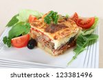 A Traditional Greek Moussaka ...