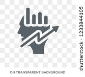 growth hacking icon. trendy...   Shutterstock .eps vector #1233844105