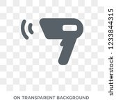 barcode scanner icon. barcode... | Shutterstock .eps vector #1233844315