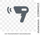 barcode scanner icon. barcode... | Shutterstock .eps vector #1233844315