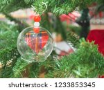 close up small heart in the...   Shutterstock . vector #1233853345