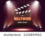 bollywood indian cinema. movie... | Shutterstock .eps vector #1233854962