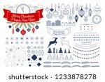 vector universal mega... | Shutterstock .eps vector #1233878278