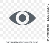 eye variant with enlarged pupil ... | Shutterstock .eps vector #1233886642