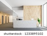 interior of modern office with...   Shutterstock . vector #1233895102