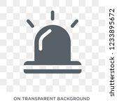 emergency icon. trendy flat... | Shutterstock .eps vector #1233895672