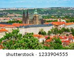 View To Prague Castle And St....