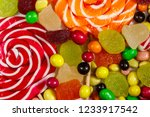 background of colorful... | Shutterstock . vector #1233917542