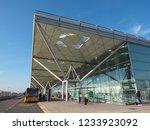 stansted  uk   circa october... | Shutterstock . vector #1233923092