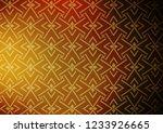 dark yellow  orange vector... | Shutterstock .eps vector #1233926665
