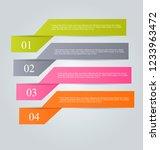 infographic design template.... | Shutterstock .eps vector #1233963472