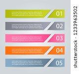 infographic design template.... | Shutterstock .eps vector #1233963502