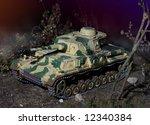 Scale Model Of German Tank...