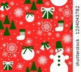 new year design. christmas... | Shutterstock .eps vector #1234043782