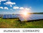 solar panel  photovoltaic ...   Shutterstock . vector #1234064392