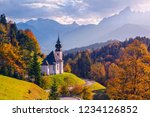 autumn in alps. image of the...   Shutterstock . vector #1234126852