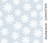 this is a winter seamless... | Shutterstock .eps vector #1234137355