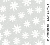 this is a winter seamless... | Shutterstock .eps vector #1234137475